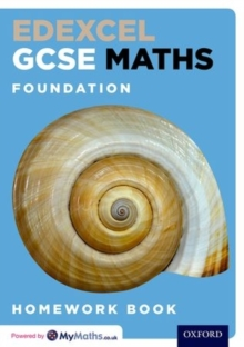 Edexcel GCSE Maths Foundation Homework Book, Paperback Book