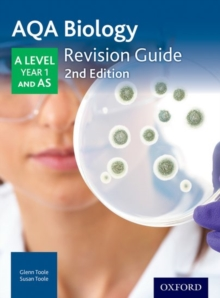 AQA A Level Biology Year 1 Revision Guide : AQA A Level Biology Year 1 Revision Guide Year 1, Paperback Book