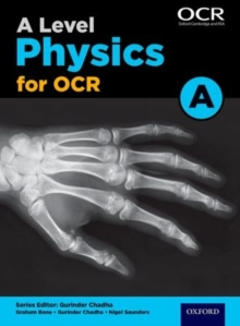 A Level Physics A for OCR Student Book, Paperback Book
