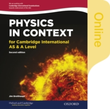 Physics in Context for Cambridge International AS & A Level : Online Student Book, Online resource Book