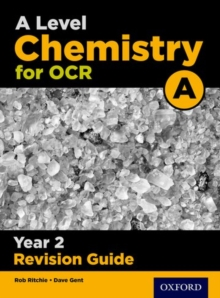 A Level Chemistry for OCR A Year 2 Revision Guide, Paperback / softback Book