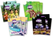 Project X CODE Extra: Yellow Book Band, Oxford Level 3: Bugtastic and Galactic Orbit, Mixed Pack of 4, Multiple copy pack Book