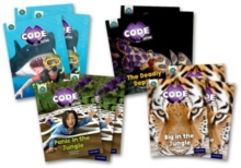 Project X CODE Extra: Green Book Band, Oxford Level 5: Jungle Trail and Shark Dive, Class pack of 12, Undefined Book