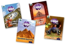 Project X CODE Extra: Purple Book Band, Oxford Level 8: Wonders of the World and Pyramid Peril, Mixed Pack of 4, Multiple copy pack Book