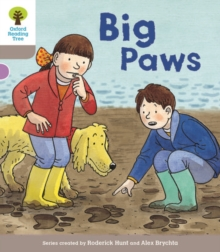 Oxford Reading Tree Biff, Chip and Kipper Stories Decode and Develop: Level 1: Big Paws, Paperback Book