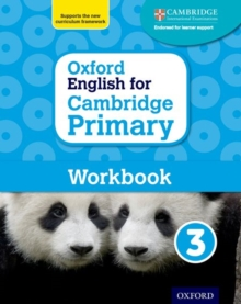 Oxford English for Cambridge Primary Workbook 3, Paperback / softback Book