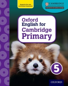 Oxford English for Cambridge Primary Student Book 5, Mixed media product Book