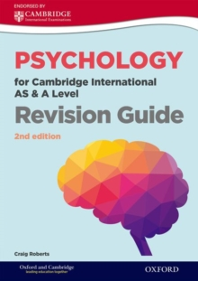 Psychology for Cambridge International AS and A Level Revision Guide, Paperback / softback Book