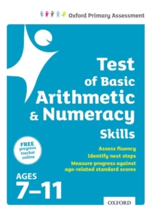 Test of Basic Arithmetic and Numeracy Skills, Multiple copy pack Book
