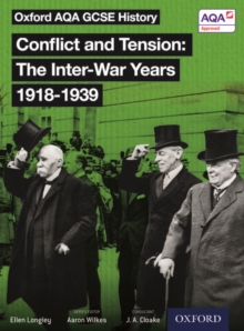 Oxford AQA History for GCSE: Conflict and Tension 1918-1939, Paperback Book