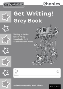 Read Write Inc. Phonics: Get Writing! Grey Book Pack of 10, Undefined Book