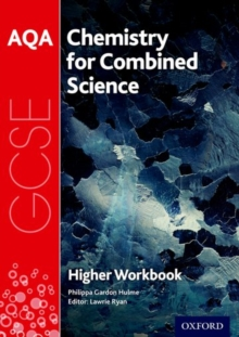 AQA GCSE Chemistry for Combined Science (Trilogy) Workbook: Higher, Paperback / softback Book