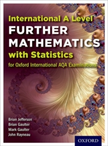 Oxford International AQA Examinations: International A Level Further Mathematics with Statistics, Paperback / softback Book