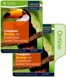 Complete Biology for Cambridge Lower Secondary : Print and Online Student Book, Mixed media product Book