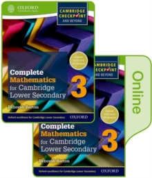 Complete Mathematics for Cambridge Lower Secondary Book 3 : Print and Online Student Book, Mixed media product Book