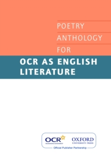 AS Poetry Anthology for OCR 2008-2012, Paperback Book