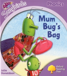Oxford Reading Tree Songbirds Phonics: Level 1+: Mum Bug's Bag, Paperback Book