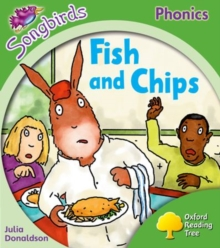 Oxford Reading Tree Songbirds Phonics: Level 2: Fish and Chips, Paperback Book