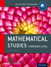Oxford IB Diploma Programme: Mathematical Studies Standard Level Course Companion, Mixed media product Book
