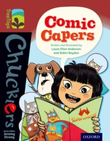 Oxford Reading Tree TreeTops Chucklers: Level 15: Comic Capers, Paperback Book