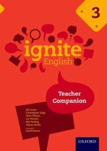 Ignite English: Teacher Companion 3, Paperback Book