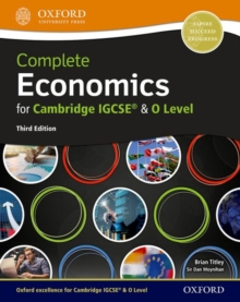 Complete Economics for Cambridge IGCSE (R) and O Level, Mixed media product Book