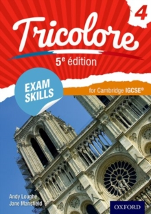 Tricolore 5e edition: Exam Skills for Cambridge IGCSE (R) Workbook & CD-ROM, Mixed media product Book