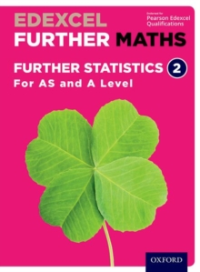 Edexcel Further Maths: Further Statistics 2 Student Book (AS and A Level), Mixed media product Book