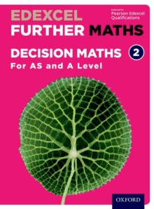 Edexcel Further Maths: Decision Maths 2 Student Book (AS and A Level), Mixed media product Book