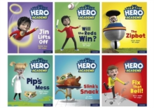 Hero Academy: Oxford Level 2, Red Book Band: Mixed pack, Multiple copy pack Book