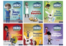 Hero Academy: Oxford Level 6, Orange Book Band: Mixed pack, Multiple copy pack Book