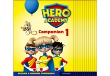 Hero Academy: Oxford Levels 1-6, Lilac-Orange Book Bands: Companion 1 Class Pack, Multiple copy pack Book