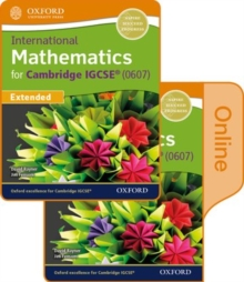 International Maths for Cambridge IGCSE Print & Online Student Book, Mixed media product Book