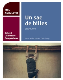 Oxford Literature Companions: Un sac de billes: study guide for AS/A Level French set text, Paperback / softback Book