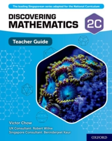 Discovering Mathematics: Teacher Guide 2C, Mixed media product Book