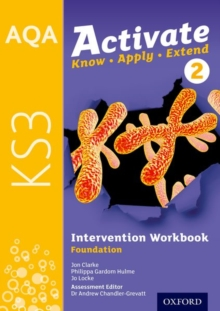 AQA Activate for KS3: Intervention Workbook 2 (Foundation), Paperback / softback Book