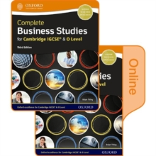 COMPLETE BUSINESS STUDIES FOR CAMBRIDGE,  Book