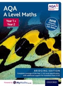 AQA A Level Maths: Bridging Edition : Year 1 and 2 Combined Student Book, Mixed media product Book
