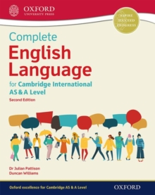 Complete English Language for Cambridge International AS & A Level, Mixed media product Book