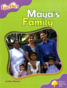 Oxford Reading Tree: Level 1+: Fireflies: Maya's Family, Paperback / softback Book