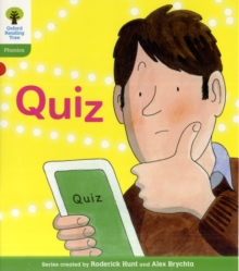 Oxford Reading Tree: Level 2: Floppy's Phonics Fiction: Quiz, Paperback Book