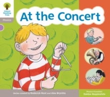 Oxford Reading Tree: Floppy Phonic Sounds & Letters Level 1 More a At the Concert, Paperback / softback Book