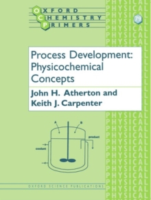 Process Development : Physicochemical Concepts, Paperback / softback Book