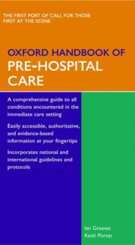 Oxford Handbook of Pre-Hospital Care, Part-work (fasciculo) Book