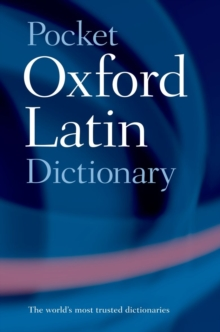 Pocket Oxford Latin Dictionary, Paperback / softback Book