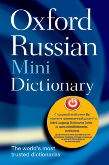 Oxford Russian Mini Dictionary, Paperback Book