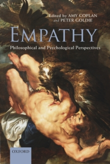 Empathy : Philosophical and Psychological Perspectives, Paperback Book