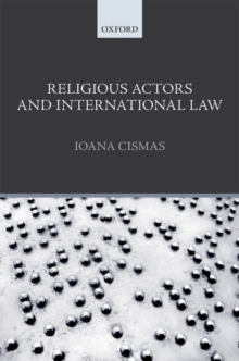 Religious Actors and International Law, Hardback Book