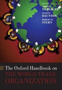 The Oxford Handbook on The World Trade Organization, Paperback / softback Book