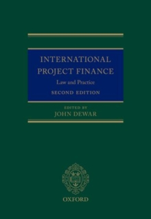 International Project Finance : Law and Practice, Hardback Book